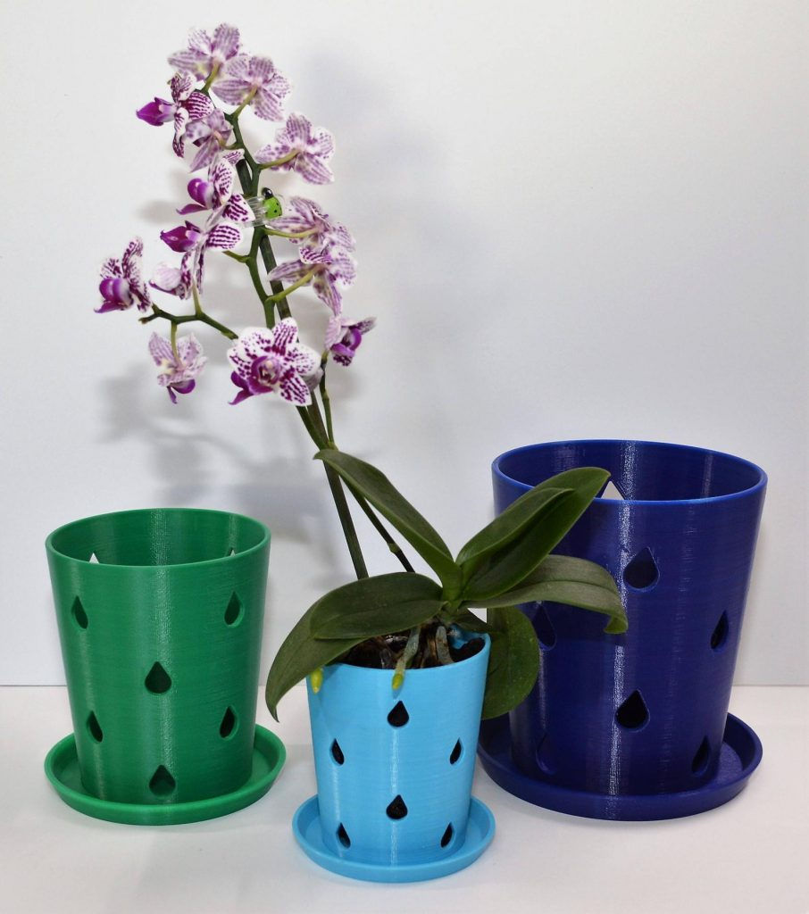 orchid pot with holes on side